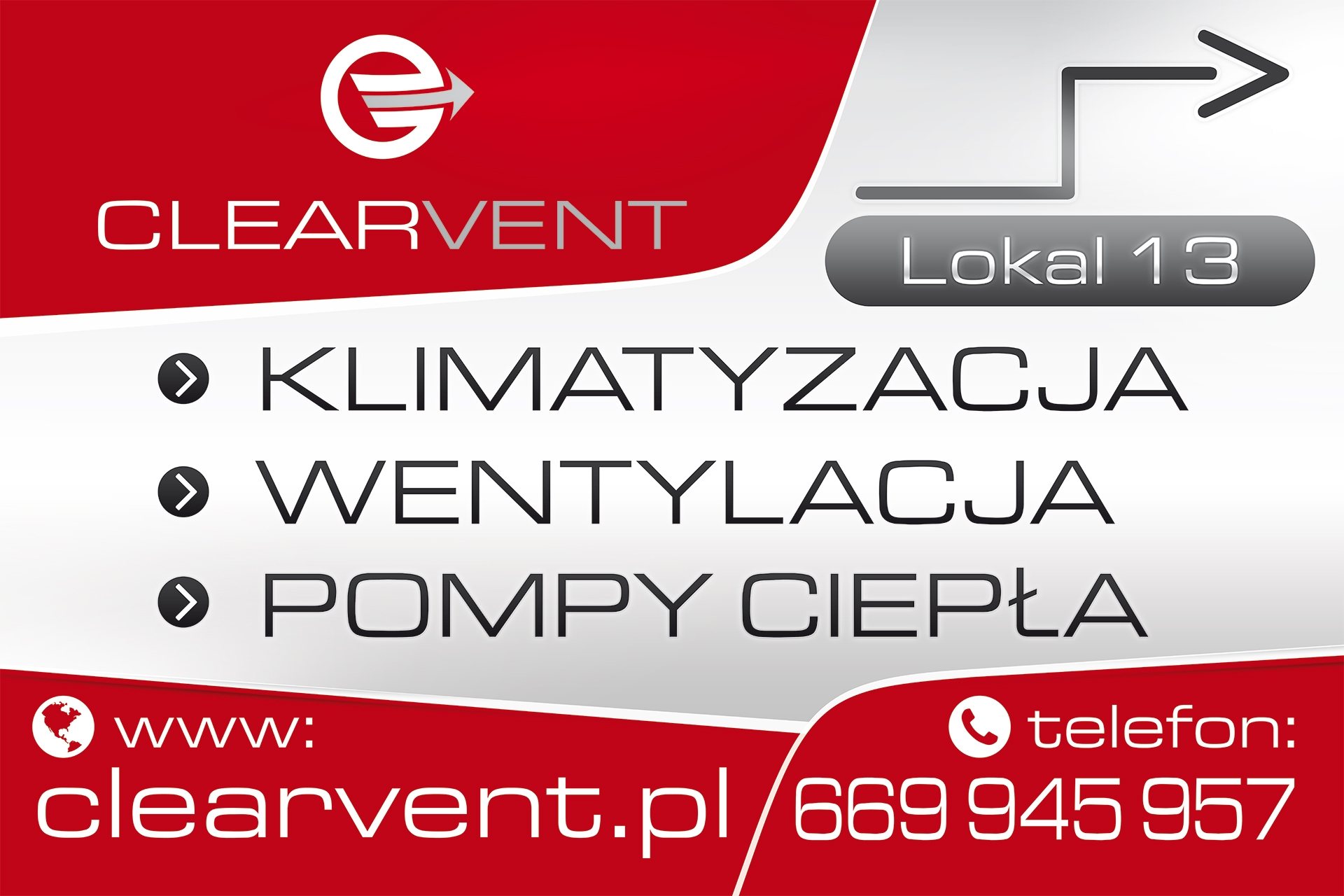 CLEARVENT - Banner 240x160cm