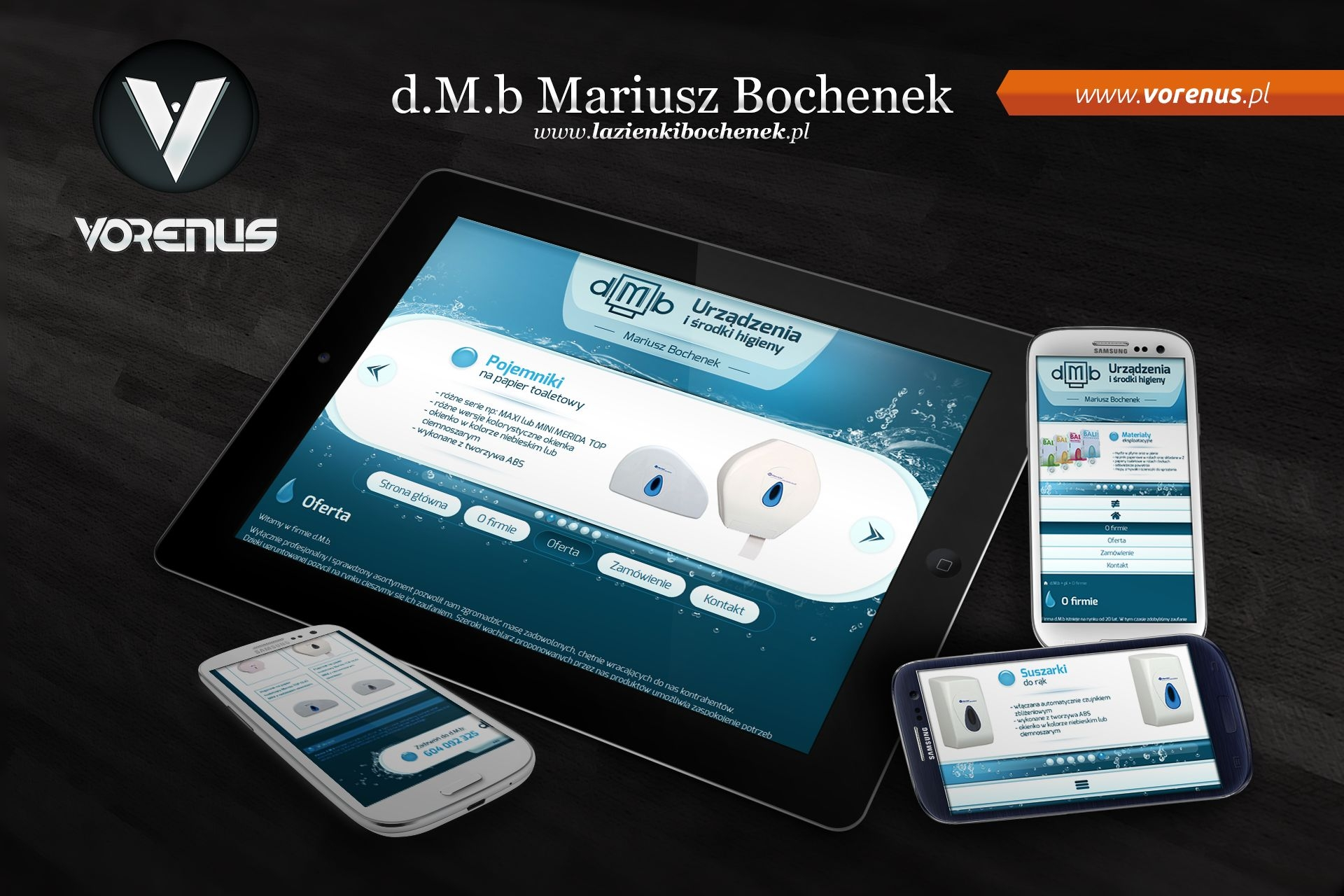 d.M.b Website. RWD - Responsive Web Design