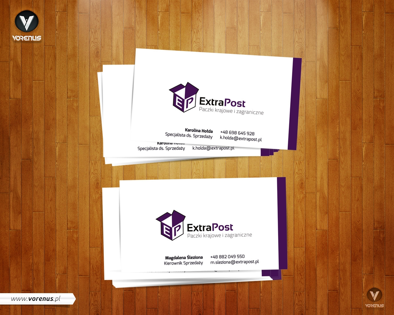 ExtraPost - Business Card