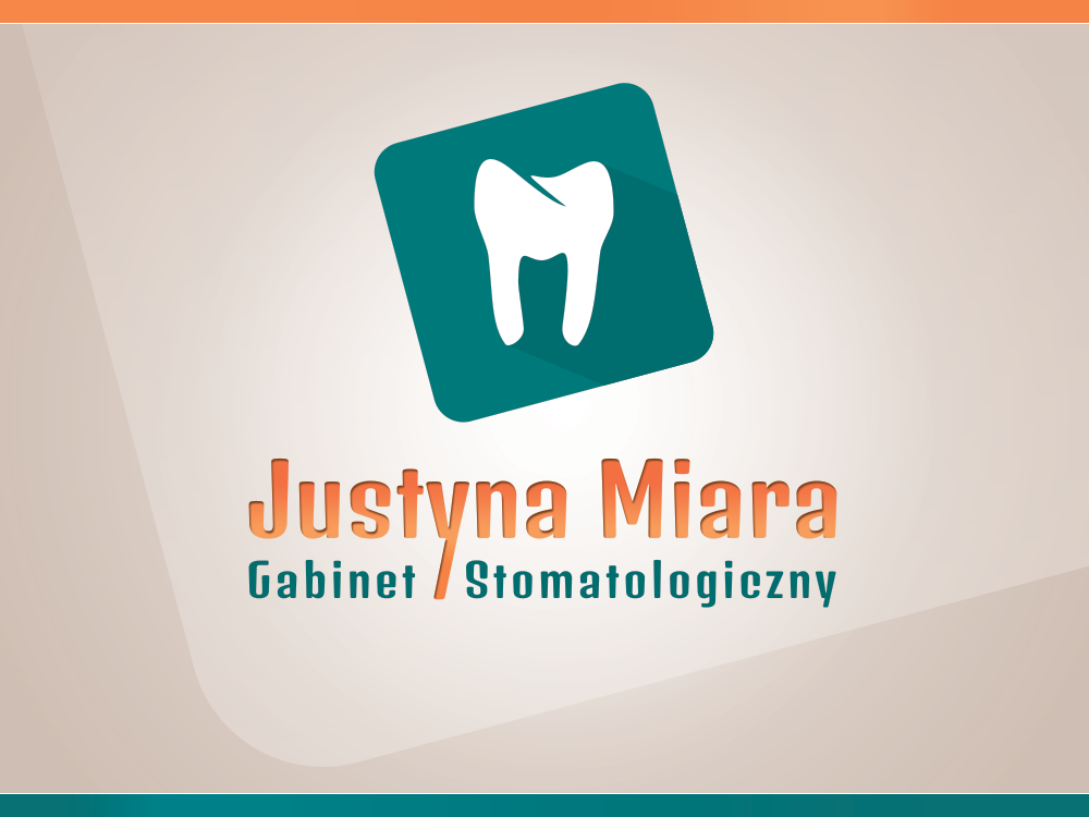 Justyna Miara - Dental Surgery. LOGO horizontal version