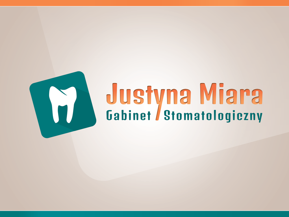 Justyna Miara - Dental Surgery. LOGO vertical version