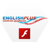 English PLUS. Centrum Językowe. Banner Flash