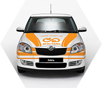 ZICOM - Skoda Fabia car sticker