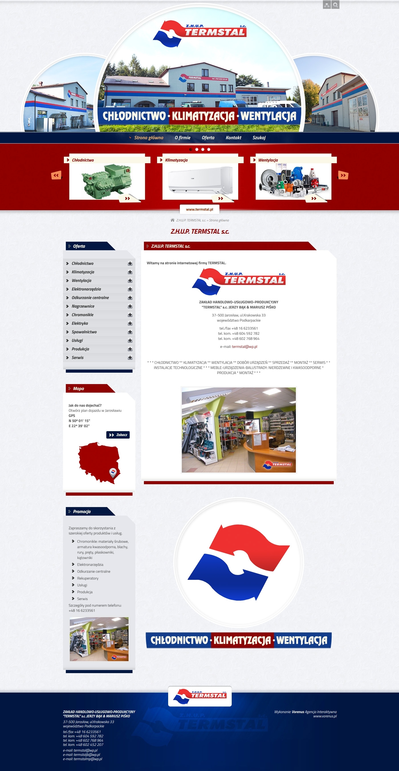 TERMSTAL - Home site