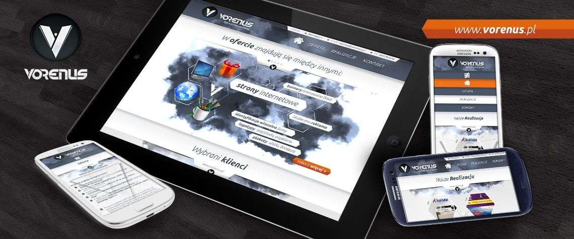 Vorenus Interactive Agency - Responsive Web Sites.