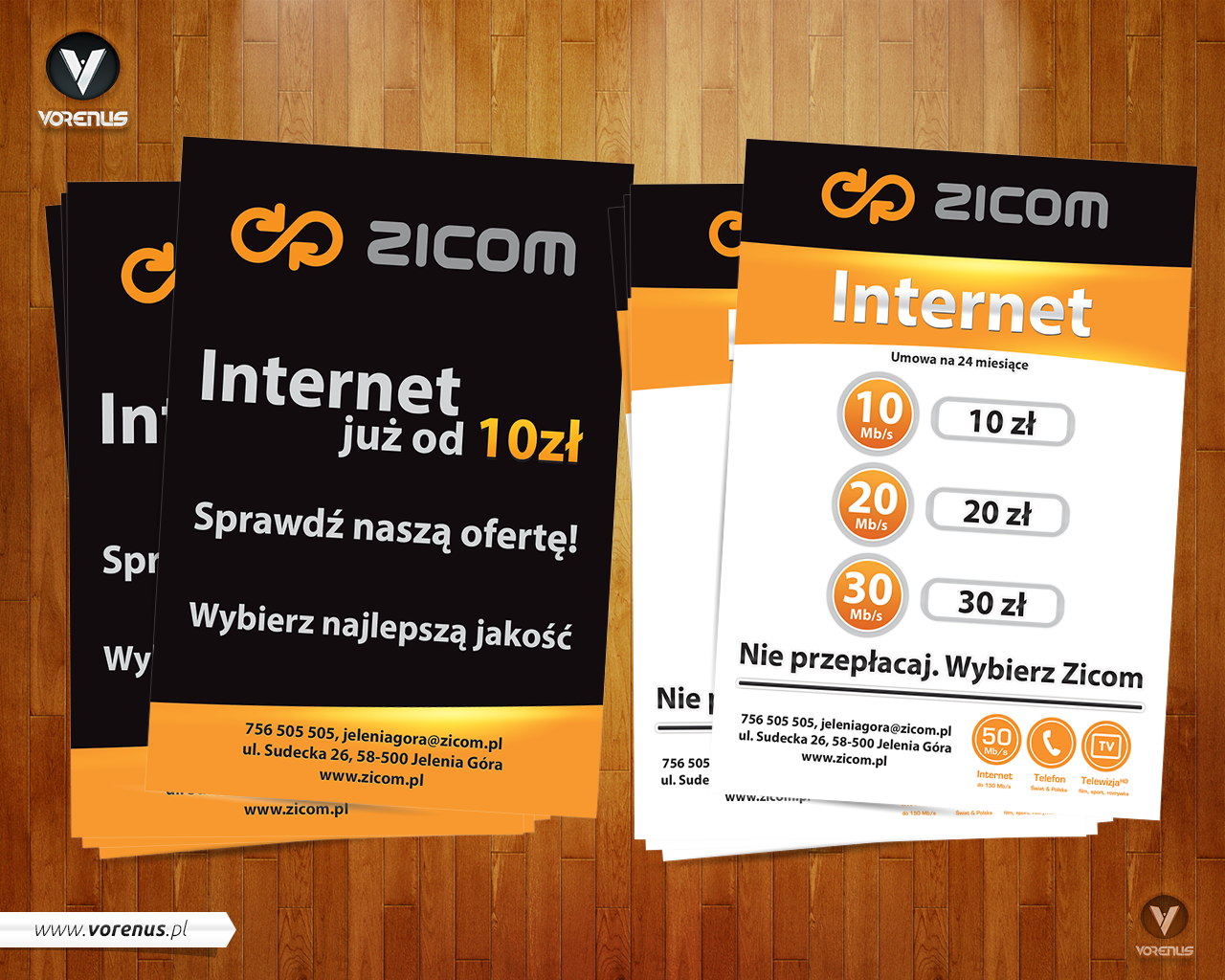 ZICOM - Flyer A6 - Internet. Presentation